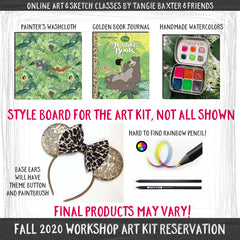 Art Journaling the Magic LIVE! Fall 2020 [Art Kit Reservation]