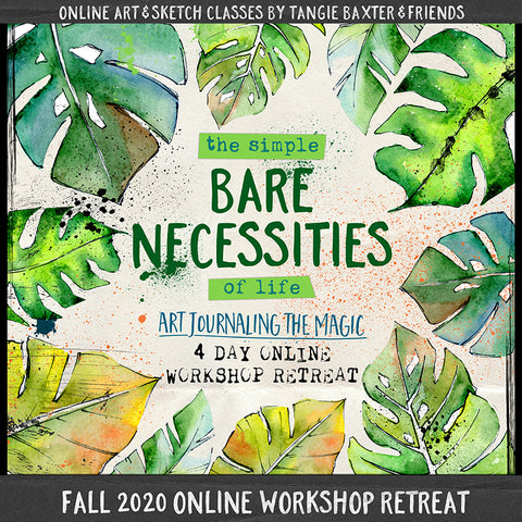 Art Journaling the Magic LIVE! Fall 2020 Online Workshop Retreat [Nov. 4th-7th]