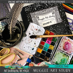 PRE-SALE---Muggle Art Study [Course 2]-School of Wizardry Online Art Retreat April 23rd-25th, 2020