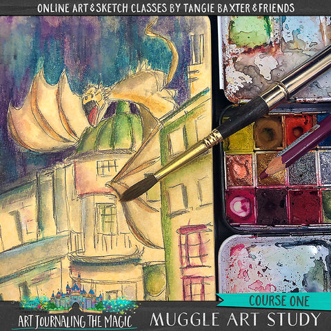 BRAND NEW CLASS! Muggle Art Study [Course 1]-School of Wizardry