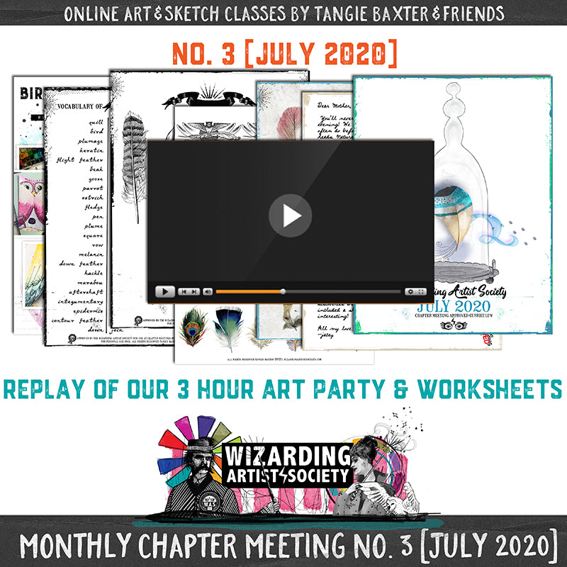 W.A.S Chapter Meeting No. 3 [July 2020] Guest Teacher Brittney Leavitt
