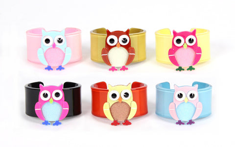 Apple Pie Jewelry Baby Owl Cuff