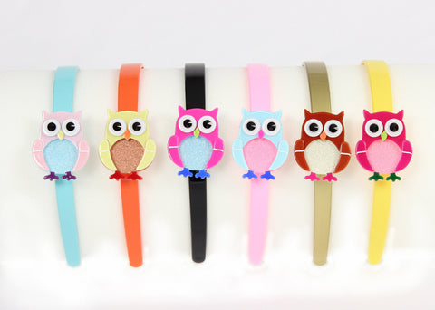 Apple Pie Jewelry Baby Owl Hairband