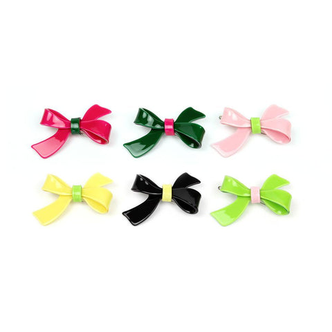 Apple Pie Jewelry Bow Hairclip