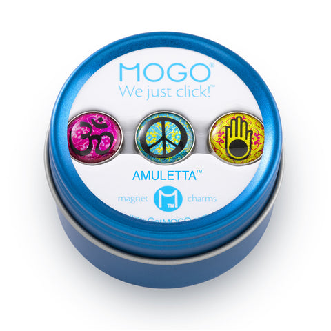 MOGO Charm Collection - Amuletta (Tin of 3 Charms)