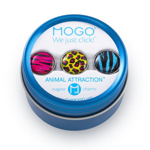 MOGO Charm Collection - Animal Attraction (Tin of 3 Charms)