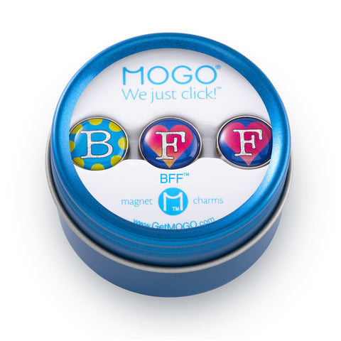 MOGO Charm Collection - BFF (Tin of 3 Charms)