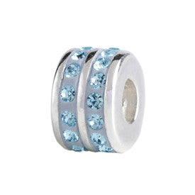 SilveRado KIDZ Double Spacer Blue Bling