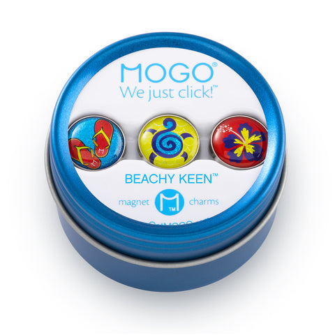 MOGO Charm Collection - Beachy Keen (Tin of 3 Charms)