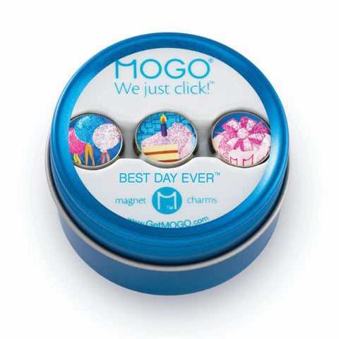 MOGO Charm Collection - Best Day Ever (Tin of 3 Charms)