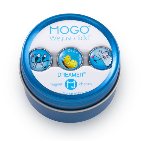 MOGO Charm Collection - Dreamer (Tin of 3 Charms)