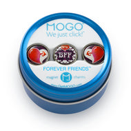 MOGO Tin of 3 Charms, MOGO Charm Collection - Forever Friends (Tin of 3 Charms), MOGO Charms- Caitlin's Crafty Creations