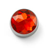 MOGO Charm, MOGO Birthstone January - Garnet Charm, MOGO Charms- Caitlin's Crafty Creations