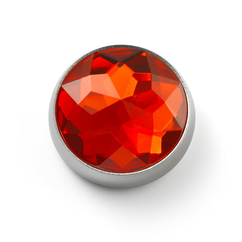 MOGO Birthstone January - Garnet Charm
