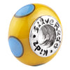 SilveRado Busy Bee Murano Glass Bead