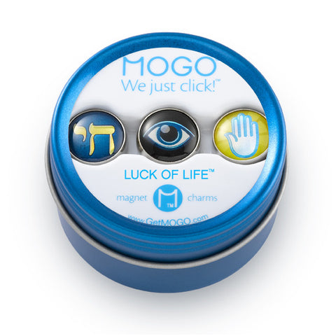 MOGO Charm Collection - Luck of Life (Tin of 3 Charms)