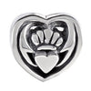 SilveRado Celtic Claddagh Sterling Silver Celtic Collection Charm