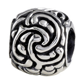 SilveRado Celtic Maze Sterling Silver Celtic Collection Charm