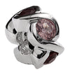 SilveRado CB5-Orange Spinel Sterling Silver Gemstone Charm