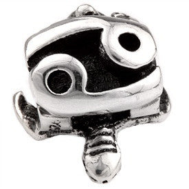 SilveRado Turtle - Cancer Sterling Silver Turtle Zodiac Charm
