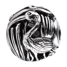SilveRado Bird Focal No1 Sterling Silver Focal Bead