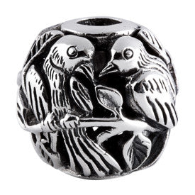 SilveRado Bird Focal No3 Sterling Silver Focal Bead