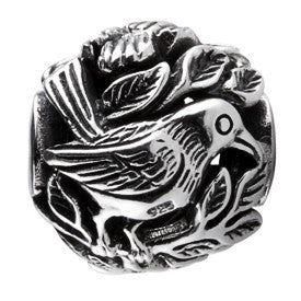 SilveRado Bird Focal No4 Sterling Silver Focal Bead