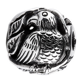 SilveRado Bird Focal No5 Sterling Silver Focal Bead