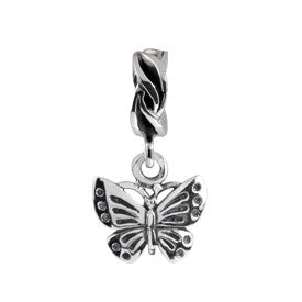 SilveRado Butterfly Sterling Silver Dangle Charm