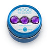 MOGO Tin of 3 Charms, MOGO Charm Collection - Purple Bling (Tin of 3 Charms), MOGO Charms- Caitlin's Crafty Creations