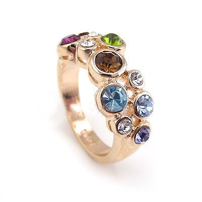 Cluster Ring featuring Swarovski Crystals