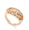 Ring, Custom Made Rose Gold Filigree Ring, Custom Made Jewellery- Caitlin's Crafty Creations