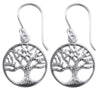 Earrings, Custom Made Tree Of Life Earrings, Custom Made Jewellery- Caitlin's Crafty Creations
