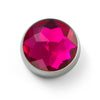 MOGO Charm, MOGO Birthstone July - Ruby Charm, MOGO Charms- Caitlin's Crafty Creations