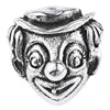 SilveRado Clown Face Sterling Silver Charm