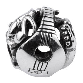 SilveRado Musical Instruments Sterling Silver Large Focal Charm