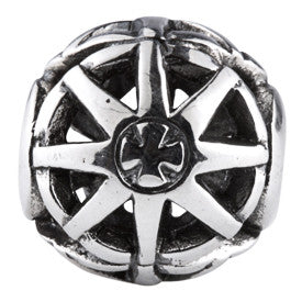 SilveRado Mag Wheel No1 Sterling Silver Large Focal Charm
