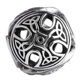 SilveRado Celtic Cross Sterling Silver Large Focal Charm