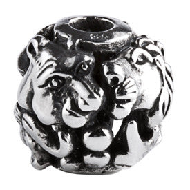 SilveRado Big Five Sterling Silver Large Focal Charm
