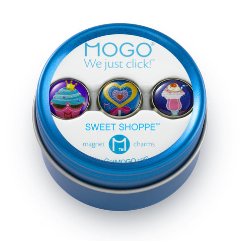 MOGO Charm Collection - Sweet Shoppe (Tin of 3 Charms)