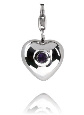 Verado February Birthstone Charm