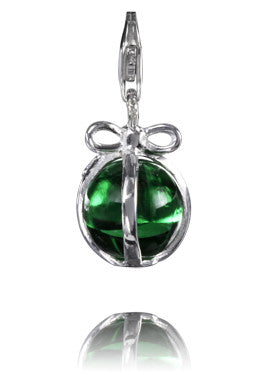 Verado Brilliant Green Murano Glass Charm