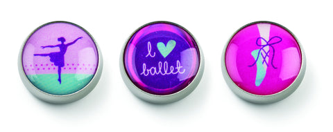MOGO Charm Collection - Love to Dance (Tin of 3 Charms)