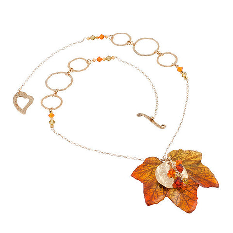 Custom Made An Autum Affair Necklace
