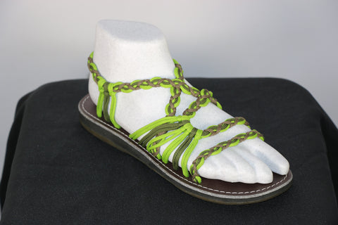 Loki Sandals - 08 - Lime / Forest / Olive