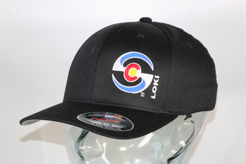 Flexfit Hat - Black / Colorado Logo