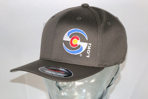 Flexfit Hat - Gray / Colorado Logo
