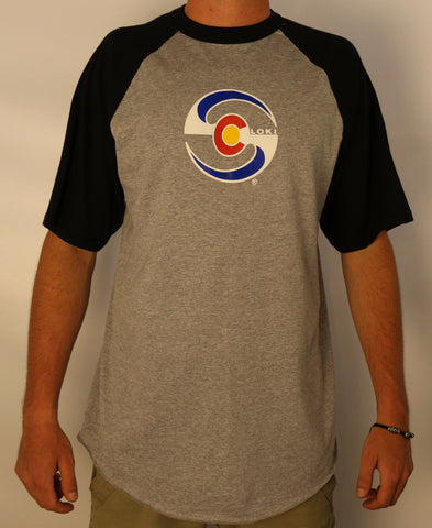 Men's Short Sleeve Baseball - Black