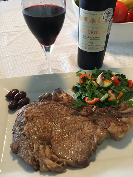 Why Red Wine pair so well with Red Meat