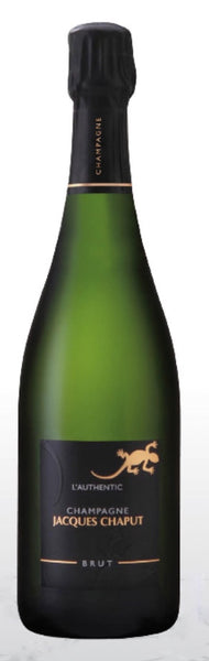 Champagne Jacques Chaput Authentic - Great boutique champagne - 70% Pinot Noir - 30% Chardonnay - Delivered by Miami Wine Buzz